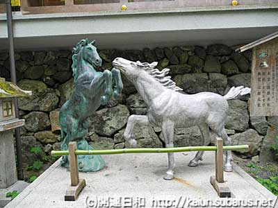 kihue horse atatue