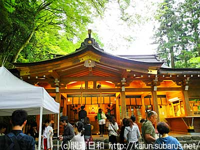 本宮 Kihune main shrine