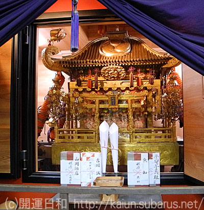 Japan's largest portable shrine