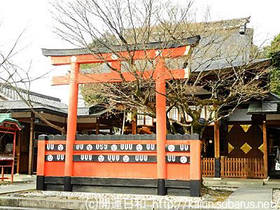 車折神社拝殿