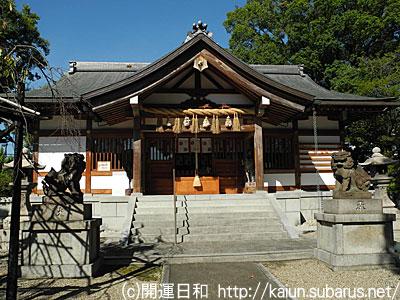 田中神社拝殿