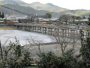桂川渡月橋