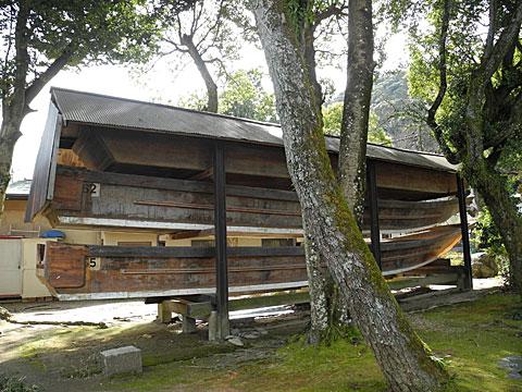 松尾 川渡しの御船