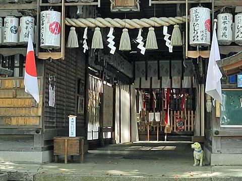 羽束師神社 拝殿