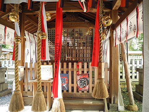 羽束師神社本殿