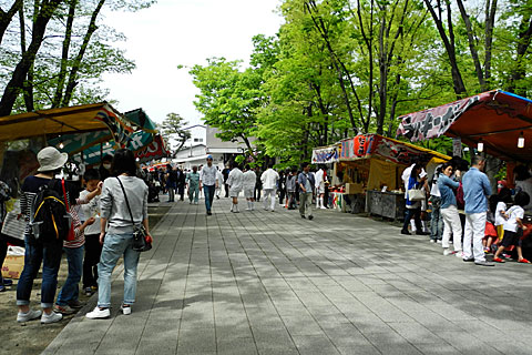 伏見稲荷御旅所 参道