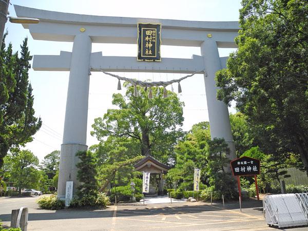 田村神社大鳥居