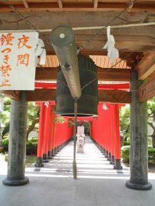 田村神社鐘