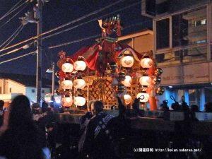 三栖神社神輿