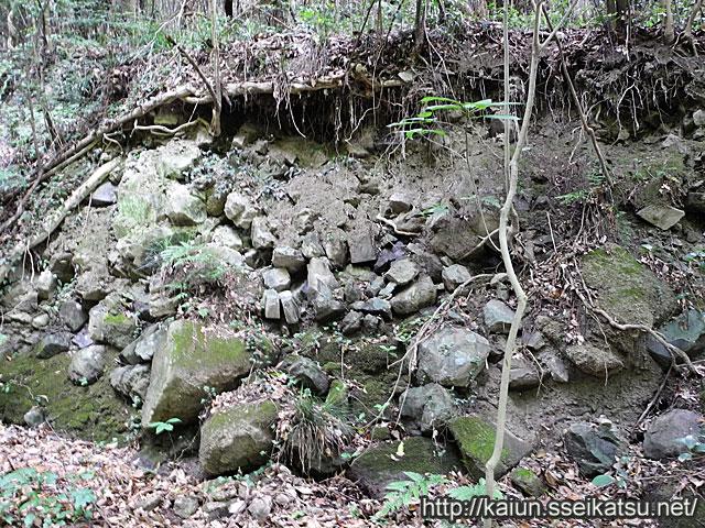 弥谷寺の石垣