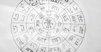 フトマニ龍体文字