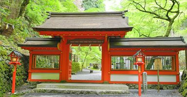 貴船神社奥の宮
