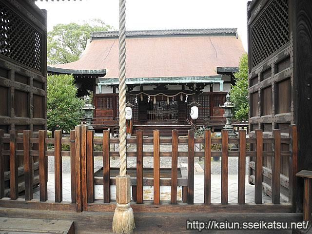 六孫王神社本殿