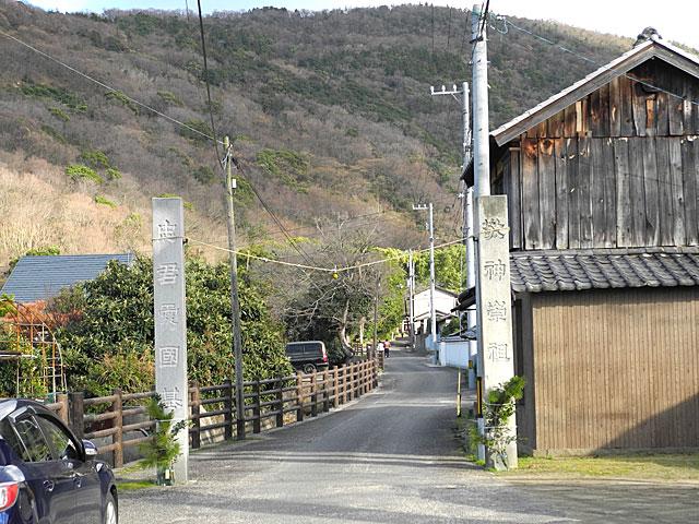 神谷神社入り口