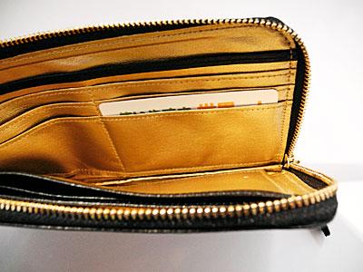 開運財布の中