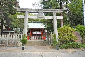 神谷神社拝殿