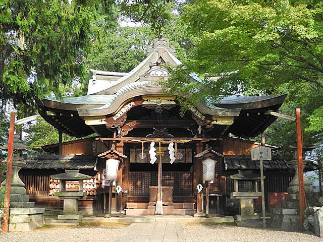 粟田神社本殿