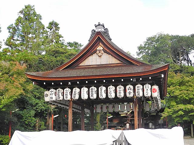 粟田神社拝殿