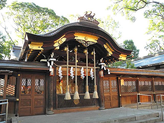 護王神社本殿