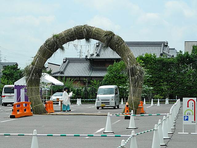 車用茅の輪