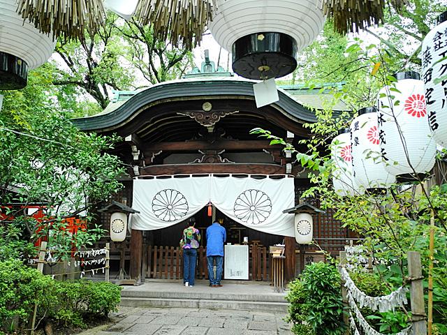 堀越神社本殿
